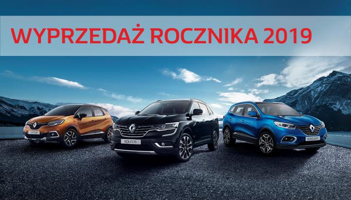 Najlepsza wyprzedaż Renault 2019!