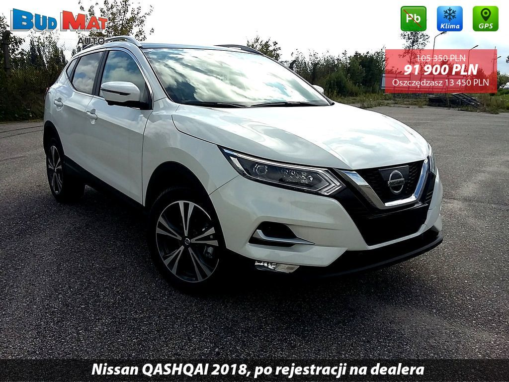 budmat grupa samochody nowe nissan qashqai 1 2 dig t 115 km 6mt n connecta p styl bia a. Black Bedroom Furniture Sets. Home Design Ideas
