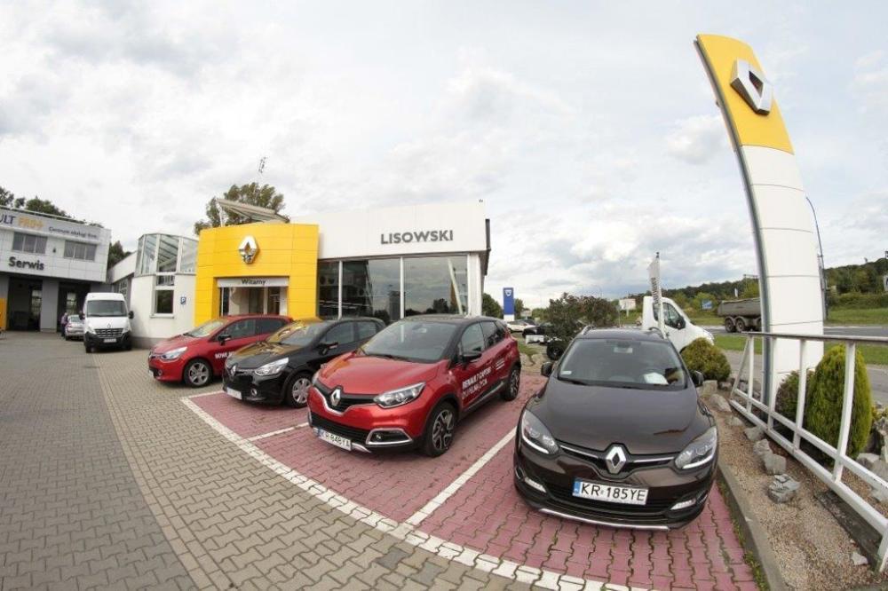 Autospektrum dealer Renault Kraków, al. Powstańców Śląskich 24