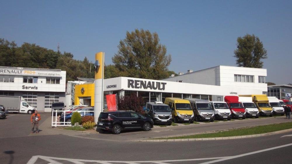 Autospektrum serwis Renault Kraków, al. Powstańców Śląskich 24