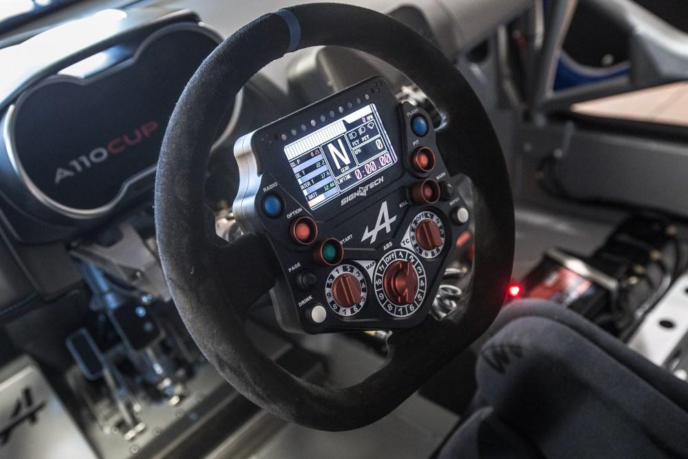 Wnętrze Renault Alpine