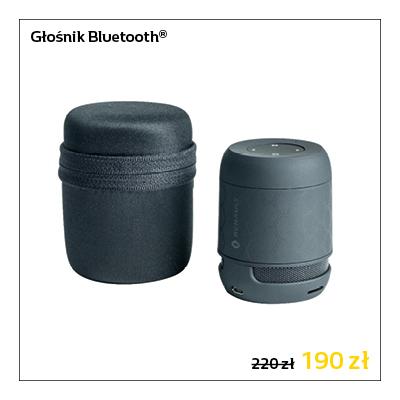 Kompaktowy głośnik Bluetooth częstotliwość od 20 Hz do 20 kHz