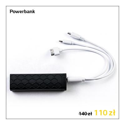 Powerbank - akumulator litowo-jonowy o pojemności 3000 mAh