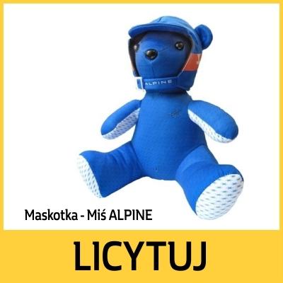 Maskotka Miś ALPINE