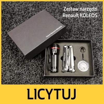 Zestaw narzędzi Renault KOLEOS