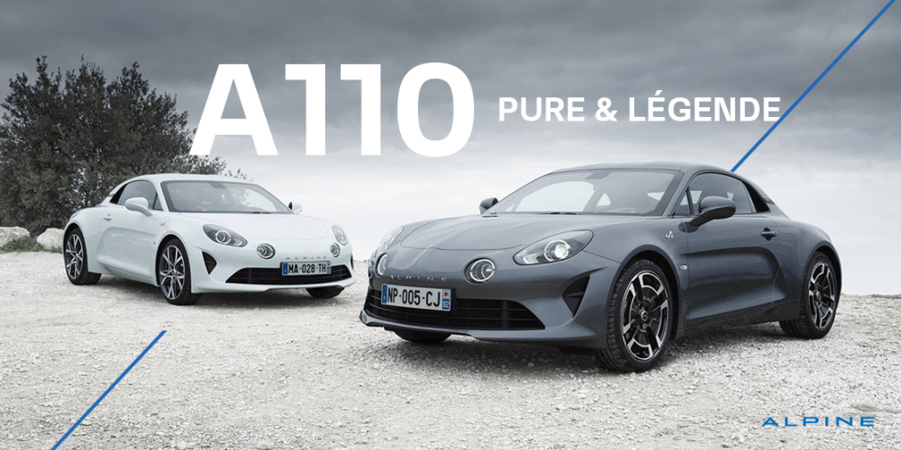 Renault Alpine A110 Pure i Legende