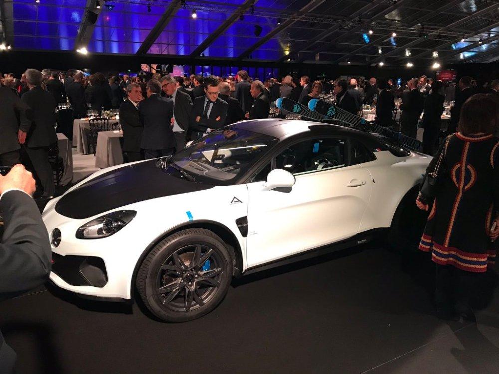 Model koncepcyjny Alpine A110 SportsX zaprezentowany podczas FAI